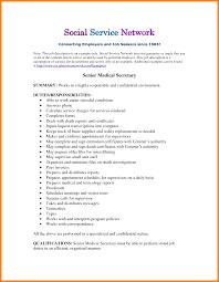 Resume For Medical Secretary 9 Sample Of Job Description Buyer Resume