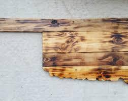 oklahoma wood oklahoma wood etsy