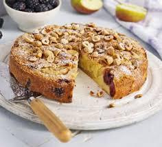 blackberry u0026 apple cake recipe bbc good food