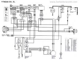 yamaha moto 4 wiring diagram gooddy org