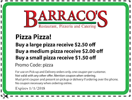 Old Country Buffet Coupon Buy One Get One Free by Barraco U0027s Restaurant Pizzeria U0026 Catering