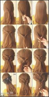 cool step by step hairstyles cool easy hairstyles for long hair 13 2 jpeg hair x