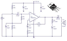 audio amplifier circuit page 16 audio circuits next gr