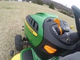 john deere s240 sport lawn tractor ride along youtube