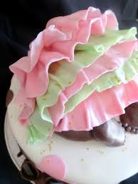 pink little cake baby baby shower cake