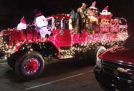 firefighters light up the town in somerville u0027s v annual holiday