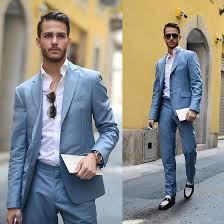 light blue jacket mens click to buy jacket pants selling light blue groom tuxedos