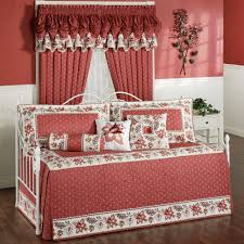Pergo Floor Covering Bedroom Elegant Red Marburn Curtain With Beautiful Daybed Covers