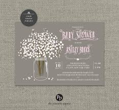 printable baby shower invitation card flower bouquet baby s