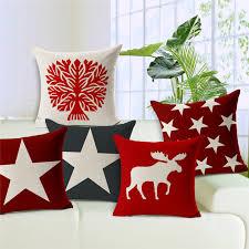 Throws And Cushions For Sofas 2016 Nuevo Diseño De Navidad Decorativo Fundas De Almohada Fundas