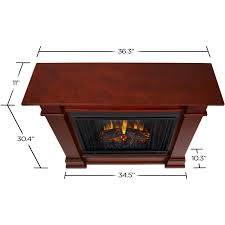 real flame devin petite 36 inch electric fireplace with mantel