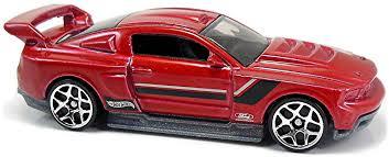 Blue Mustang Black Stripes Custom U002712 Ford Mustang 78mm 2012 Wheels Newsletter
