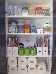 living on a latte kids craft cupboard