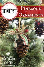 rustic pinecone ornaments www thefarmgirlgabs