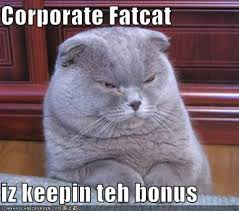 Fat Cat Meme - corporate fatcat meme city