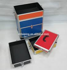 high quality diplomant trolley jewelry case for salesman