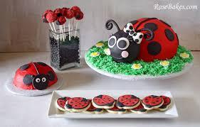 Ladybug Home Decor Ladybug Party Cake Cookies Cake Pops U0026 Smash Cake