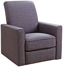Swivel Glider Recliner Chair by Amazon Com Abbyson Living Hampton Nursery Swivel Glider Recliner