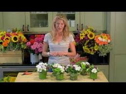 small flower arrangements for tables many small arrangements youtube