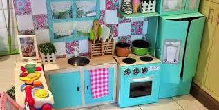 gioco cucina come creare una cucina fai da te per far giocare i bambini foto