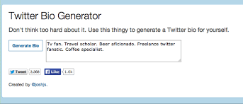 What To Say About Yourself On A Resume 7 Key Ingredients Of A Great Twitter Bio Easy To Do Tips