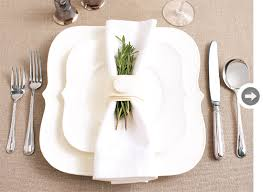how to set a table with napkin rings diy felt napkin rings style at home