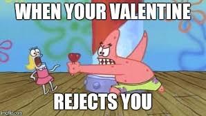 Patrick Star Meme - patrick vs valentines day imgflip