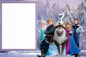 Invitation Cards Maker Frozen Free Printable Cards Or Party Invitations Is It For