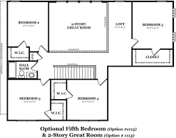 great room floor plans hickory the jones company