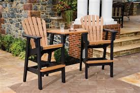 Bar Height Patio Table And Chairs Bar Height Patio Furniture Sets Pertaining To Outdoor Chairs Plan