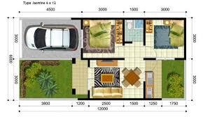 desain rumah lebar 6 meter desain rumah sederhana ukuran 6x12 meter rumah minimalis 2016