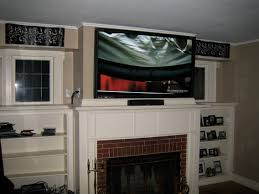 fun wall mount tv over fireplace ideas decorations photo fireplace