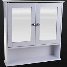 Wooden Bathroom Wall Cabinet EBay - Bathroom sink cabinet ebay