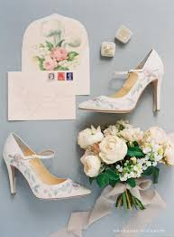 wedding shoes qld adelaide by proctor flower embroidered pumps