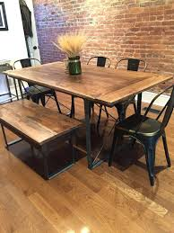 rustic dining room sets rustic hickory twig trestle table rustic hickory twig trestle table