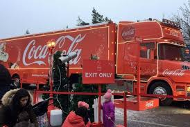 coca cola christmas truck coming to baldock and watford this