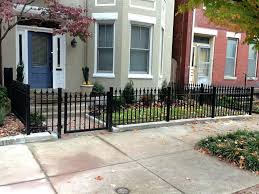 Front Garden Fence Ideas Front Garden Metal Fencing Ideas Uk