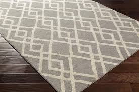 Silk Area Rugs Modern Rug Silk Valley Awsv 2171 Gray Ivory Contemporary Rug