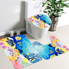 bath mats set aliexpress buy 3pcs set bath mats set non slip bathroom mat