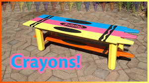 build a coffee table diy crayons youtube