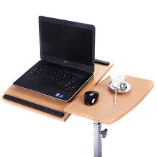 Laptop Computer Desks For Home by Adjustable Laptop Desk With Stand Holder And Wheels Desks
