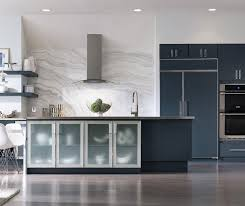 where can i get kitchen cabinet doors painted blue painted kitchen cabinets decora cabinetry