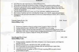 Sample Resume For Medical Billing And Coding by Medical Billing Specialist Resume Sample Sample Resumes For