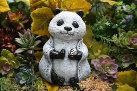 buddha statue zen panda statue meditating buddha