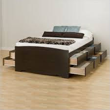 Platform Bed Frame Sears - drawers perfect full size bed with drawers storage bed frames