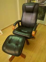 reclining whole body massage chair full electric u0026 leather