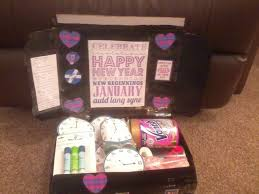 new care package aiming to be a well rounded woman new year care package for my