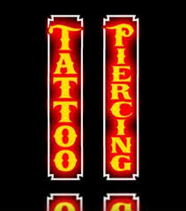 tattoo neon sign ebay