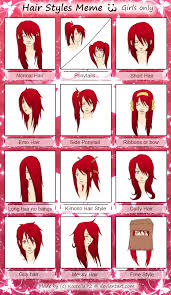Short Hair Meme - kastella tenshi hair meme by kastella72 on deviantart