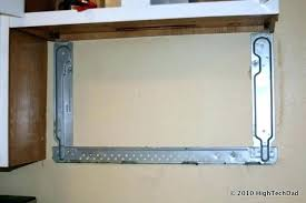 under cabinet microwave mounting kit how to install under cabinet microwave rootsrocks club